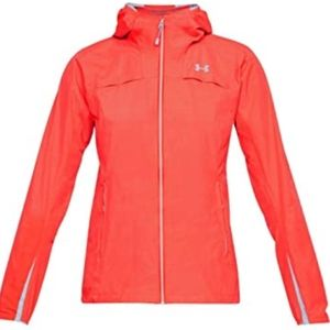 New.Under Armour scrambler coldgear jacket /orange